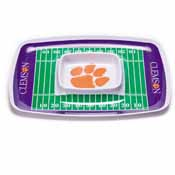 Clemson Tigers Chip & Dip Tray