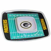 Green Bay Packers Chip & Dip Tray
