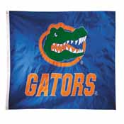 Florida Gators 2-sided Nylon Applique 3 Ft x 5 Ft Flag w/ grommets