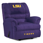 Louisiana State University Big Daddy Microfiber Recliner