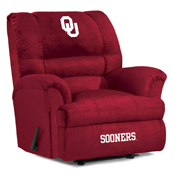 University of Oklahoma Big Daddy Microfiber Recliner
