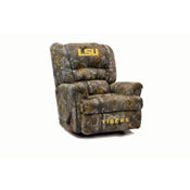 Louisiana State University Big Daddy Recliner Camo Cloth