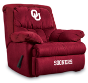 University of Oklahoma Home Team Microfiber Recliner