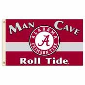 Alabama Crimson Tide Man Cave 3 Ft. X 5 Ft. Flag W/ 4 Grommets