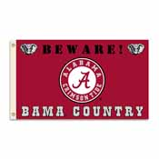 Alabama Crimson Tide 3 Ft. X 5 Ft. Flag W/Grommets - Country
