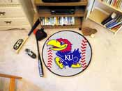 Kansas Baseball Mat 27 diameter