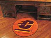 Central Michigan Basketball Mat 27 diameter