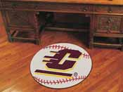 Central Michigan Baseball Mat 27 diameter