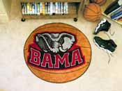 Alabama Basketball Mat 27inch diameter