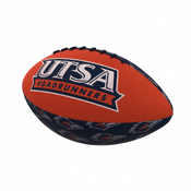 Texas-San Antonio Repeating Mini-Size Rubber Football