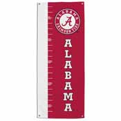 Alabama Crimson Tide Growth Chart Banner