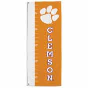 Clemson Tigers Growth Chart Banner