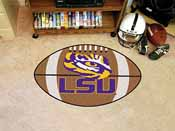 Louisiana State Football Rug 20.5x32.5
