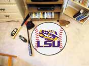 Louisiana State Baseball Mat 27 diameter
