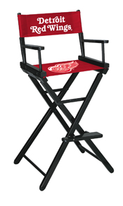 Detroit Redwings Bar Height Directors Chair