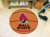 Ball State Basketball Mat 27 diameter