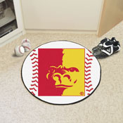 Pittsburg State Baseball Mat 27 diameter