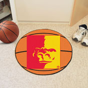 Pittsburg State Basketball Mat 27 diameter