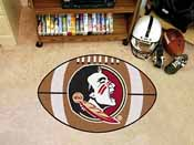 Florida State Seminoles Football Rug 20.5x32.5