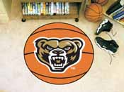Oakland Basketball Mat 26 diameter