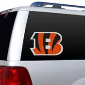 Cincinnati Bengals Diecut Window Film