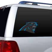 Carolina Panthers Diecut Window Film