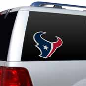 Houston Texans Diecut Window Film