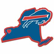 Buffalo Bills Home State Decal