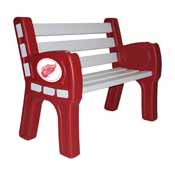 Detroit Redwings Park Bench