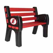 New Jersey Devils Park Bench