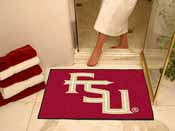 Florida State FS Logo All-Star Mat 33.75x42.5