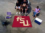 Florida State FS Logo Tailgater Rug 5'x6'