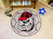 Georgia Bulldogs Soccer Ball