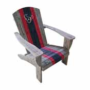 Houston Texans Wood Adirondack Chair