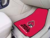 Ball State 2-piece Carpeted Car Mats 17x27