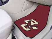 Boston College 2-piece Carpeted Car Mats 17x27