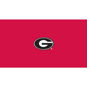 University of Georgia 8' Pool Table Cloth