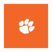 Clemson University 8' Pool Table Cloth