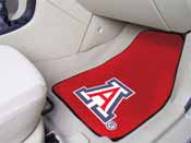 Arizona 2-piece Carpeted Car Mats 17x27
