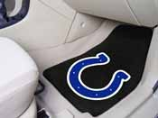 NFL - Indianapolis Colts 2-piece Carpeted Car Mats 17x27