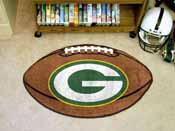 NFL - Green Bay Packers Football Rug 20.5x32.5