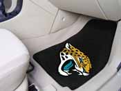 NFL - Jacksonville Jaguars 2-piece Carpeted Car Mats 17x27