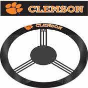 Clemson Tigers Poly-Suede Steering Wheel Cover