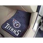 NFL - Tennessee Titans 2-piece Carpeted Car Mats 17x27