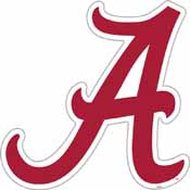 Alabama Crimson Tide Vinyl Magnet