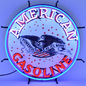 Gas - American Gasoline Neon Sign