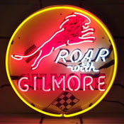Gas - Gilmore Gasoline Neon Sign