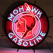 Gas - Mohawk Gasoline Neon Sign