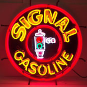 Gas - Signal Gasoline Neon Sign