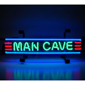 Man Cave Red Green And Blue Neon Sign